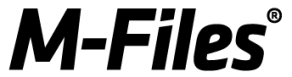 M-files Saas yhtiö logo